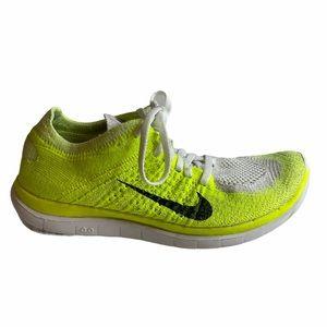 Nike Sneakers Flyknit Neon Yellow 7.5